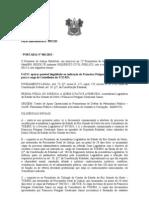 Peças Informativas nº 299/12D   - PORTARIA Nº 001/2013 - POTI JUNIOR CONSELHEIRO TCE