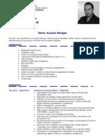 2013 - CV - Mohamed TAZI - Senior Account Manager - Fr