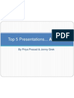 top 5 presentations - priya and jonny1