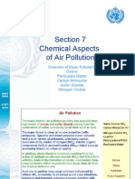 Chemical Aspect of Air Polution