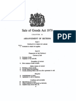 Sale of Goods Act 1979