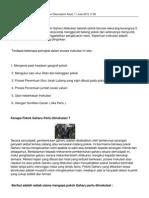 Teknik Inokulasi Pokok Gaharu