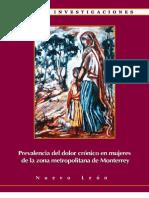 Prevalencia del dolor crónico en mujeres de la zona metropolitana de Monterrey