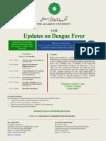 Flyer-Updates on Dengue Fever