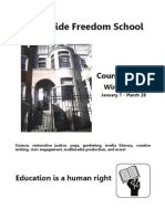 Freedom School Catalog Winter 2013
