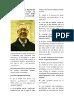Entrevista a d. Jesus Bucero Redondo