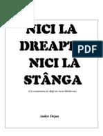 Nici La Stanga...