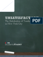 """Unsatisfactory"" StudentsFirstNY"