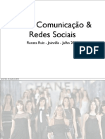 Moda Comunicacao e Redes Sociais