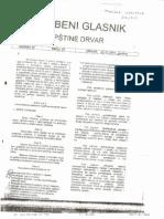 Odluka o Komunalnim Taksama Drvar