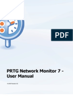 PRTG Network Monitor 7 -
