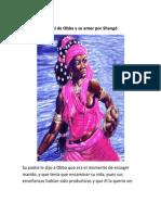 Pataki de Obba y su amor por Shangó