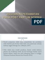 Post Partum Normal