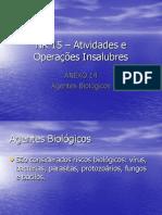 NR 15 Atividades e Operações Insalubres Biologicos