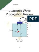 Ultrasonic Wave Propagation Review