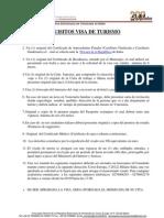 VISA TURISMO (ESPAÑOL)