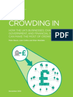Crowding In