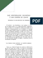 Las sociedades secretas y las Cortes de Cádiz