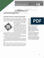 cap14 - regulación y legislación antimonopolio - pg 323-342