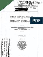 Fieldservicemanua Balloon