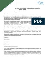 Convenio Constitutivo del Fondo Común para los Productos Básicos. Ginebra, 27 de junio de 1980