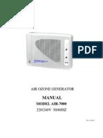 AIR-7000 MANUAL ENGLISH