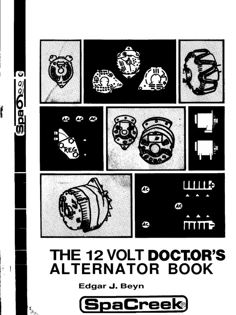 The 12 Volt Doctors Alternator Book Rectifier Diode Typical Wiring Diagram Simple Remote Control