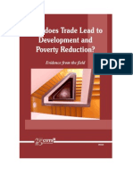 HOW DOES TRADE LEAD DEVELOPMENT AND POVERTY REDUCTION?
