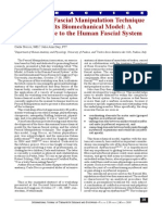 2010 The Fascial Manipulation Technique and Its Biomechanical Model