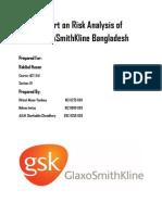 AUDITING- REPORT ON RISK ANALYSIS OF GLAXO SMITH KLINE BANGLADESH