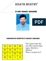 birthday magic square