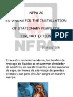 Bombas NFPA 20