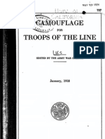 WWI Camouflage for Troops of the Line 1918