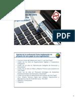 MVLS - MINTIC GEL - Seminario Internacional Cero Papel 2012 - Como implementar un proyecto de cero papel en una organización VF - Resumen 2