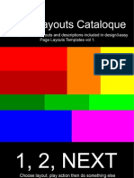 Page Layouts Cataloque