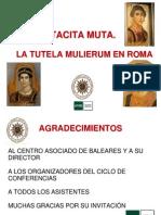 Tacita Muta - Tutela Mulirerum en Roma