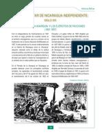 Historia Militar de Nicaragua a partir de 1821