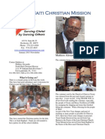 North Haiti Christian Mission Newsletter January 2013