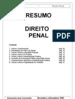 Resumo de Direito Penal