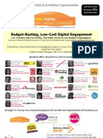 Low Cost Digital Engagment Sponsorship & Exhibition Brochure