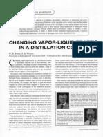 Changing Vapour-Liquid Traffic