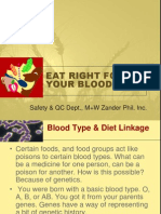 EatRight4YourBloodType