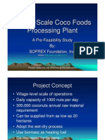 Coco Foods Processing Plant pre-feasibility Presentation