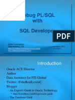 Debug With PL/SQL