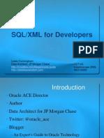 SQL XML For Developers