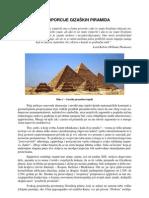 Proporcije Triju Gizaskih Piramida