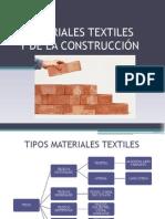Materiales Textiles y Construccion