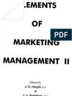 The Marketing Strategy Concept - Classification and Application