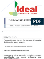 Planejamento de Marketing - Ideal