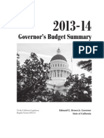 Gov. Jerry Brown's proposed 2013-14 California Budget